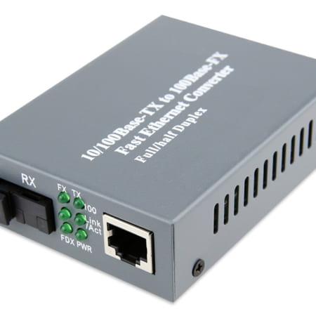 Bộ Chuyển đổi quang ra RJ45 10/100M AMP 1591030-9